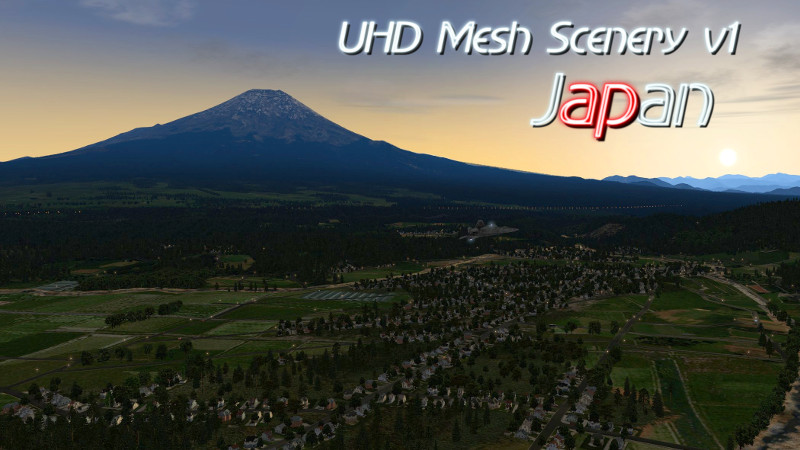UHD Mesh Scenery v1 – Japan released!