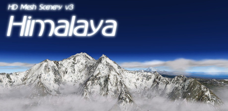 HD Mesh Scenery v3 – Himalaya released!