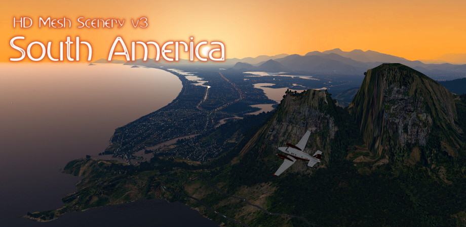 HD Mesh Scenery v3 – South / Central America released!